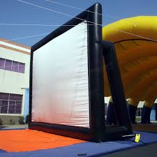sy0307 5x3m movie screen inflatable giant outdoor projector cinema