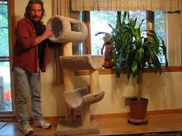 Free Diy Cat Furniture Plans by Diy 110 Cat Tree Tower Climber Youtube