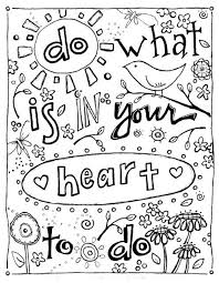 The 25 Best Quote Coloring Pages Ideas On Pinterest Adult I Coloring Sheets