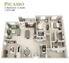 3 Bedroom Apartments Fort Worth Overture Ridgmar Rentals Fort Worth Tx Apartments Com