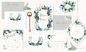 wedding invitations greenery greenery wedding invitations now online alisa bobzien wedding