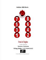 holden logo v8 firing order