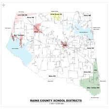 isd map rains isd district map
