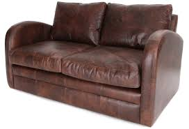 camden vintage leather small 2 seater sofa from old boot sofas