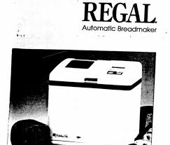 regal kitchen pro collection regal bread maker manuals and recipes thriftyfun