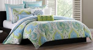 Green Bed Sets Contemporary Echo Bedroom With Blue Green Bedding Sets Echo Green