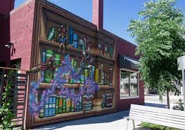 21 denver restaurants and breweries with epic murals 303 magazine cori anderson bookbar murals denver restaurant murals