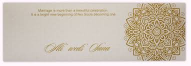 henna invitation slim wedding invite with gold henna pattern sqsl6 1 50