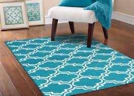 Amazon Com Area Rugs Rug Teal And White Area Rug Wuqiang Co