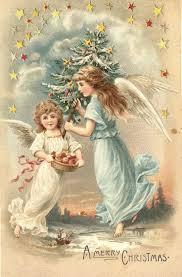 467 best vintage angel cards images on pinterest christmas