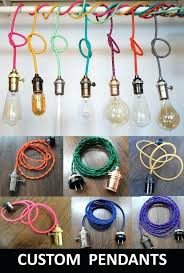 Pendant Light Cord Kit Pendant Light Cord Kit Color Fabric Covered Light Cords In Jars