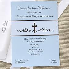 communion invitations precious prayers personalized boy s communion invitations