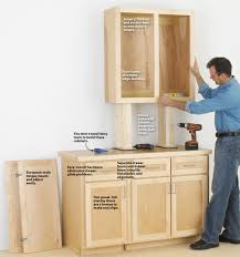 how to build a base for cabinets to sit on make cabinets the easy way wood magazine
