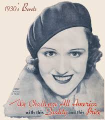 women hairstyle france 1919 1930s fashion the french beret glamourdaze