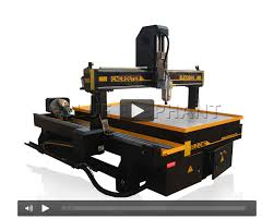 ele 1324 stone cnc router with big rotary axis 4 axis wood cnc