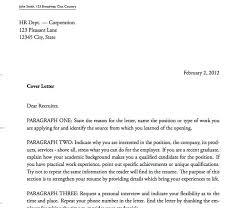 cover letter sample format haadyaooverbayresort com