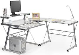 Glass Corner Desk Interior Design Tips Smart 3 X Black Glass Corner Desks