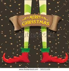 vector creative merry christmas greeting card stock vector