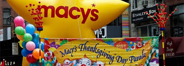 macy s thanksgiving day parade route map