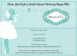 Bridal Shower Invitation Wording Bridal Shower Invitation Verbiage Bridal Shower Invitation
