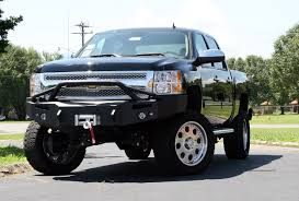 chevy prerunner truck premium front bumper fab fours