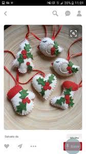 85 best natale images on pinterest felt ornaments christmas