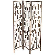 Gold Room Divider Mirrored Art Deco 3 Panel Room Divider Screen 3c005 Lamps Plus