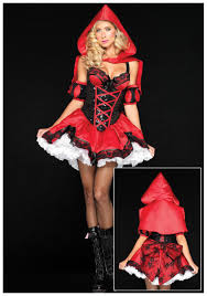 Red Riding Hood Halloween Costumes Red Riding Hood Red Big Bad Wolf