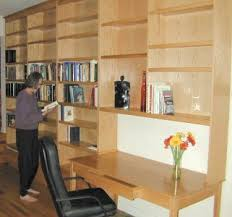 library installation at www plesums com wood