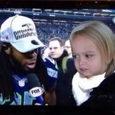 Sherman Meme - memes spread after sherman calls out crabtree at nfc game
