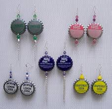 plastic bottle earrings 13 creative bottle cap upcycles recyclenation