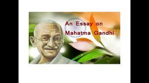 an essay on mahatma gandhi speech in english gandhi jayanti
