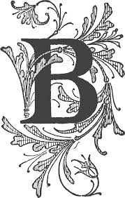 letterb b beautiful katie sorrell garden trends