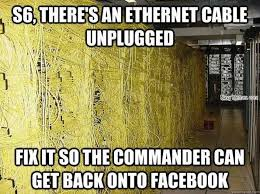 Cable Meme - find the cable that is unplugged navy memes clean mandatory fun