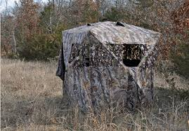 Elevated Bow Hunting Blinds Tips For Hunting A Ground Blind Effectively