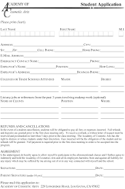 Resume Template For Cosmetologist Resume Cosmetology Student Resume
