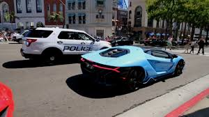 lamborghini centenario police not happy loud 2 3m lamborghini centenario youtube