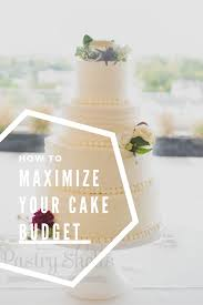 how to maximize your wedding cake budget pastry shells