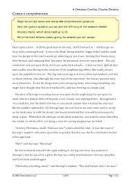 ks3 a christmas carol by charles dickens teachit english
