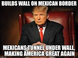 Mexican Racist Memes - donald trump s stupid and racist wall ilovemyoriginalmartyblog