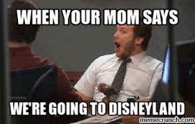 Disneyland Memes - your mom says we re going to disneyland