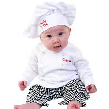 Baby Boy Halloween Costumes Amazon Baby Aspen Baby Chef 3 Piece Layette Culinary Gift