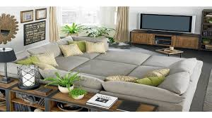 slipcover sectional sofa with chaise pit sectional sofa hotelsbacau com
