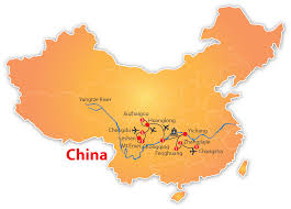 Chengdu China Map by Natural Wonders Of China 19 Days U2013 Nexus Holidays