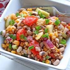 southern sorghum u0026 black eyed pea salad the daring gourmet