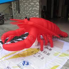 crawfish decorations 2016 hot sale 2ml lobster crawfish