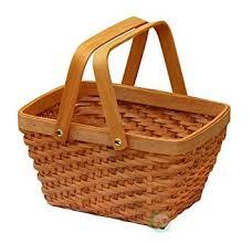 picnic gift basket vintiquewise tm qi003056 rectangular chip picnic