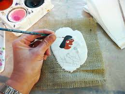 that artist woman how to make plaster frescoes