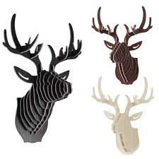 compare prices on deer head wall hanging art online shopping buy