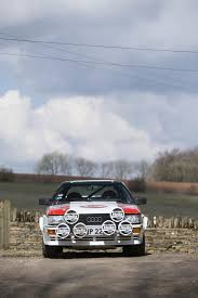 audi rally this factory built audi quattro rally car is also an insane road